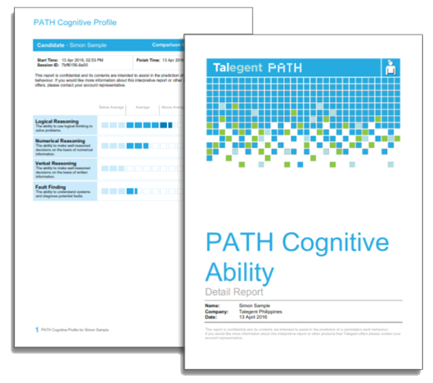 Cognitive Report Cover