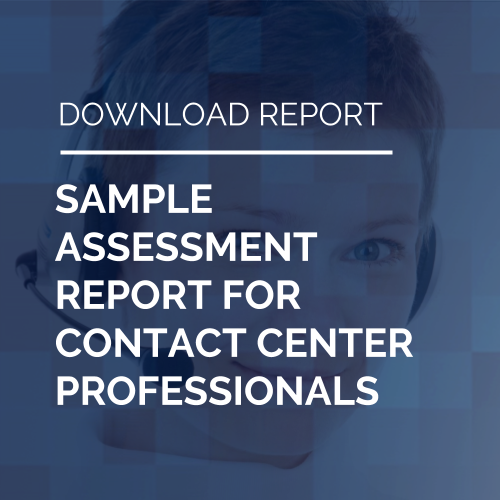 Sample Report for Contact Center