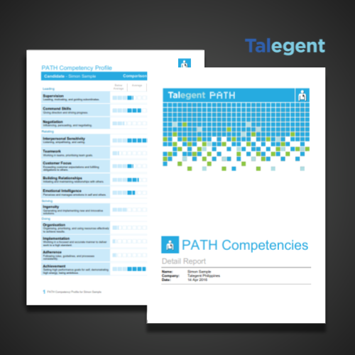 Talegent Competency Report