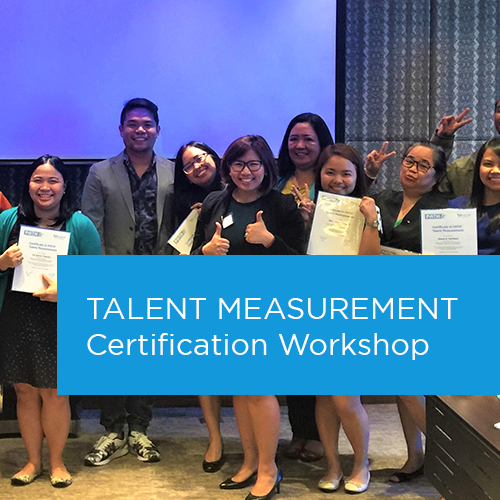Talent Measurement Certification Workshop