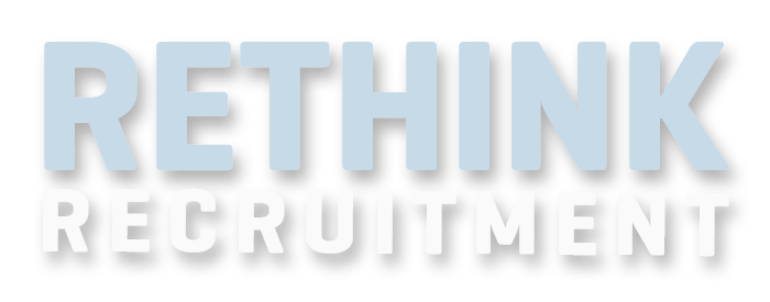 rethink recruitment website banner