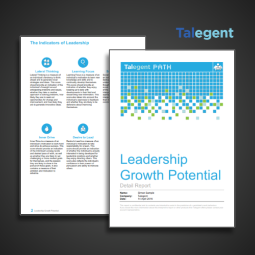 Talegent Leadership Potential Report Featured Image