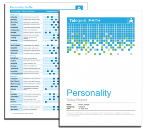 Personality Report Cover