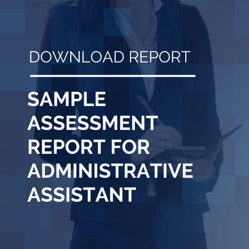 Sample Report for Administrative Assistant